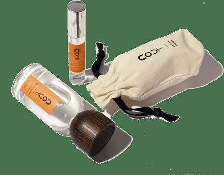 L'emballage écologique des flacons Nout