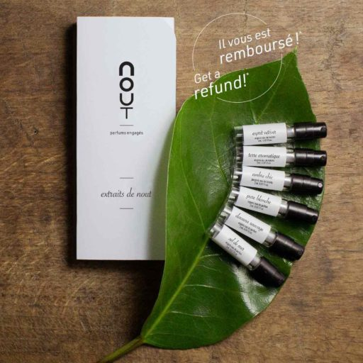 This is a Nout Discovery Perfume Kit